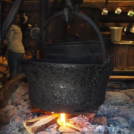 Ketel van de Kalsegg Alm Hütte