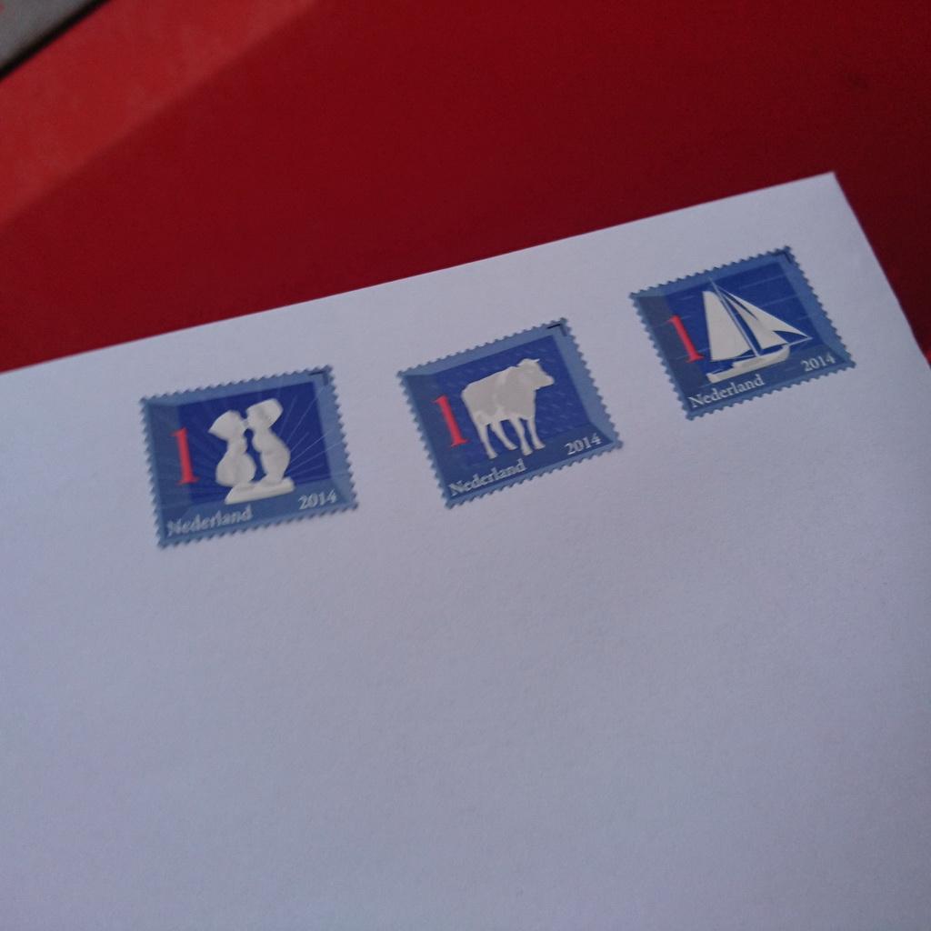 daadkrachtige postzegels