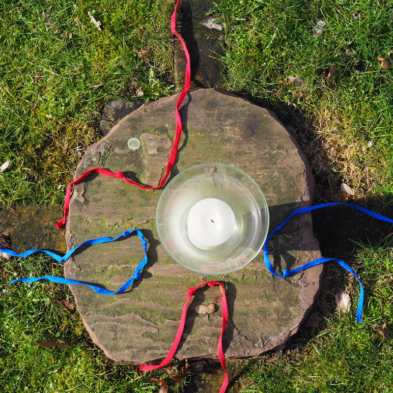 Labyrint van touw