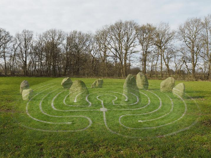 Steencirkel en Labyrint